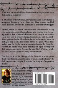 Dominion of the Damned Paperback - back